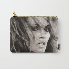 Raquel Welch Portrait Carry-All Pouch