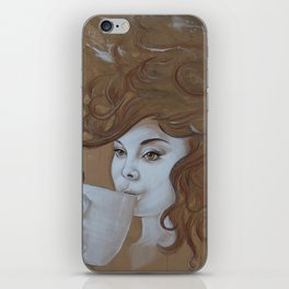 Caffeine for Thought iPhone Skin