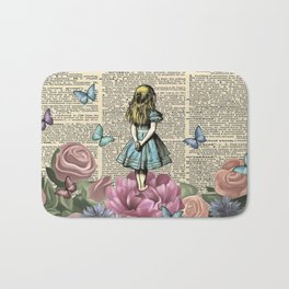 Alice In Wonderland Magical Garden Bath Mat