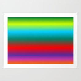 Gradient background colorful 2 Art Print