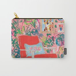 Red Chair Carry-All Pouch