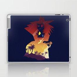 The Many Faces of Games: Kingdom Hearts Sora Ver. Laptop & iPad Skin