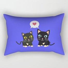 Cats in Love Rectangular Pillow