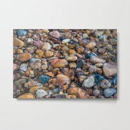 Moana Pebbles Metal Print