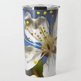 Plum Blossom Travel Mug