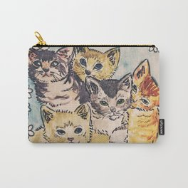 CATS AGAINST CAT CALLS Shirt Carry-All Pouch