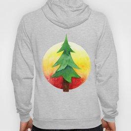 The Pine Guard Watercolor Logo Hoody