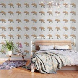 GOLD ELEPHANT Wallpaper