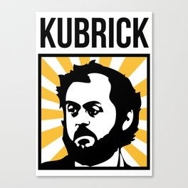 Stanley Kubrick Tribute Canvas Print