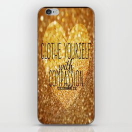 Compassion iPhone Skin
