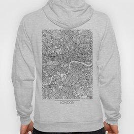 London Map White Hoody