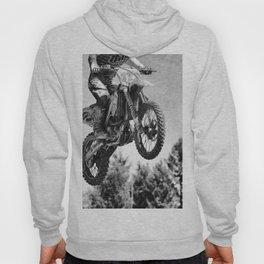 Got Some Air!  - Motocross Racer Hoody