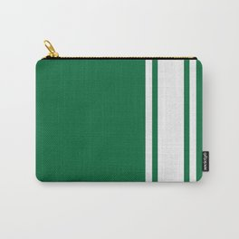 Green Racer Carry-All Pouch