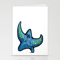 starfish Stationery Cards featuring Starfish by Michael Hewitt