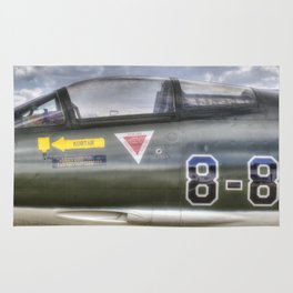 Turkish Air Force F104G Starfighter Rug