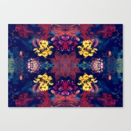 SWIM IN SALIVA #1 colorfull Canvas Print