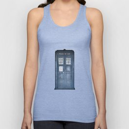 The Tardis Unisex Tank Top