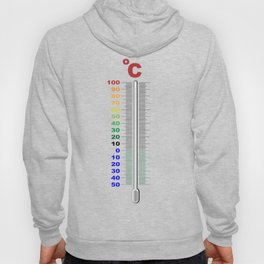 A Temperature Thermometer Hoody