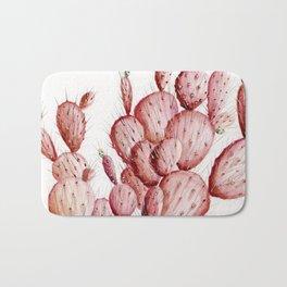 Pink Cacti Bath Mat