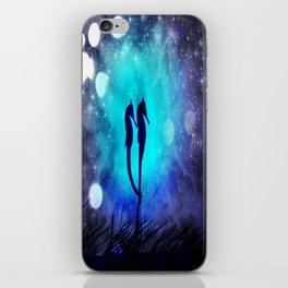 Two Seahorses iPhone Skin
