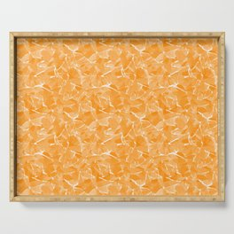 Yellow abstract Serving Tray