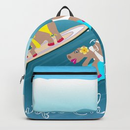 Surfie Chicks Rule Backpack