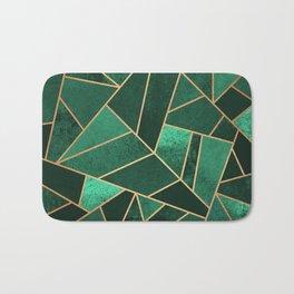 Emerald and Copper Bath Mat