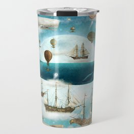 Ocean Meets Sky - option Travel Mug