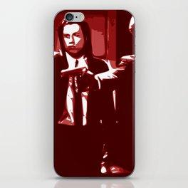 Minimalistic Pulp Fiction iPhone Skin