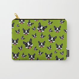 Milo The Boston Terrier #2 Carry-All Pouch