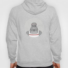 Gorillas love exercise Hoody