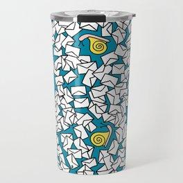 Snail Mail Turquoise Travel Mug