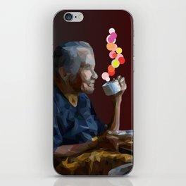 old women iPhone Skin
