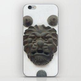 Cartagena Lion Mug, Colombia, South American iPhone Skin