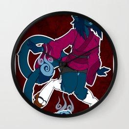 Yoru Kitty Wall Clock
