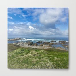 Asilomar Beach in Carmel, CA Metal Print