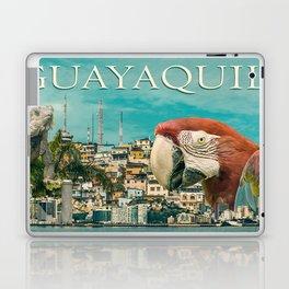 Guayaquil Touristic Postal Design Laptop & iPad Skin
