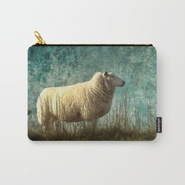 Vintage Sheep Carry-All Pouch