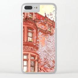 Bostonia Clear iPhone Case