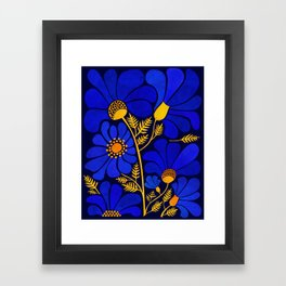 Wildflower Garden Framed Art Print