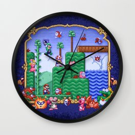 Mario Super Bros, Too Wall Clock