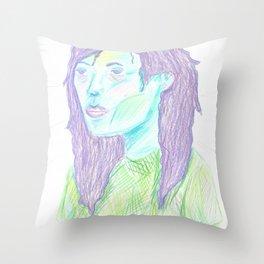 Tired Throw Pillow