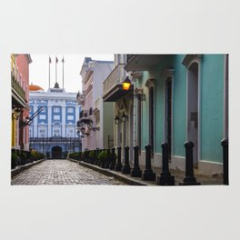 Old San Juan, Puerto Rico - Photo Rug