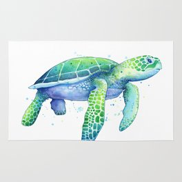 Green Sea Turtle Rug