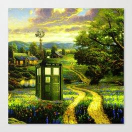 Beautiful Tardis Canvas Print