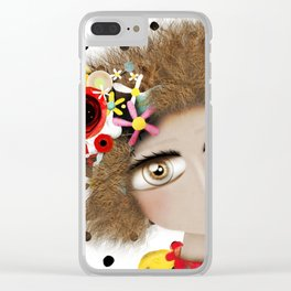 I can not take my eyes out of you Clear iPhone Case