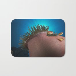 Pink Clownfishes in Anemone Bath Mat