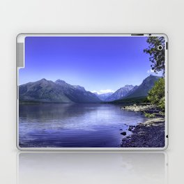 McDonald Lake In Glacier National Park Laptop & iPad Skin