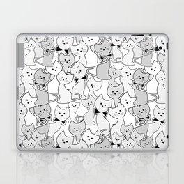 Black and white kittens Laptop & iPad Skin
