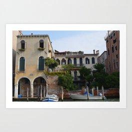 Venetian Jungle Art Print